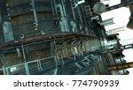 futuristic cityscape in...   Shutterstock . vector #774790939