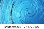 beautiful clear water swirl ... | Shutterstock . vector #774793129