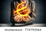 close up of businessman in suit ...   Shutterstock . vector #774793564