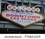 downtown las vegas   Shutterstock . vector #774821329