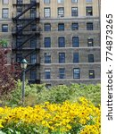 Small photo of Façade of a New York City residential building