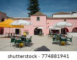 a square in the old town of... | Shutterstock . vector #774881941