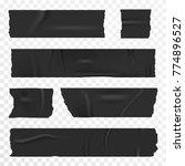 adhesive tape set on...   Shutterstock .eps vector #774896527