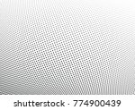 abstract halftone wave dotted... | Shutterstock .eps vector #774900439