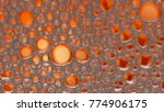 macro shot foam bubble from... | Shutterstock . vector #774906175