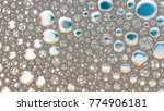 macro shot foam bubble from... | Shutterstock . vector #774906181