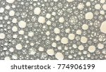 macro shot foam bubble from... | Shutterstock . vector #774906199