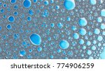 macro shot foam bubble from... | Shutterstock . vector #774906259