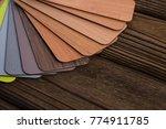 small color sample boards.... | Shutterstock . vector #774911785