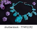 Natural Turquoise Stone...