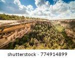 cliff dwellings in mesa verde... | Shutterstock . vector #774914899