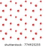 abstract seamless pattern with... | Shutterstock .eps vector #774925255