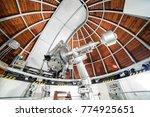 modern astronomy telescope in... | Shutterstock . vector #774925651