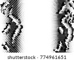 dotted halftone background.... | Shutterstock .eps vector #774961651