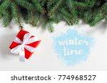 winter background concept | Shutterstock . vector #774968527