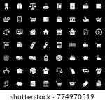 commerce icons set | Shutterstock .eps vector #774970519