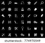 tools icons set | Shutterstock .eps vector #774970549
