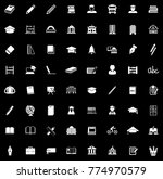 school icons set | Shutterstock .eps vector #774970579