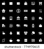 money icons set   Shutterstock .eps vector #774970615