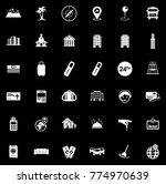 hotel icons set   Shutterstock .eps vector #774970639