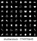 health icons set   Shutterstock .eps vector #774970645