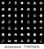 house icons set   Shutterstock .eps vector #774970651
