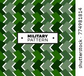 texture military camouflage... | Shutterstock .eps vector #774981814
