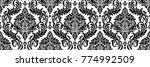 damask seamless floral...   Shutterstock .eps vector #774992509