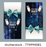 happy new year party 31... | Shutterstock . vector #774994081
