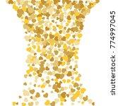 vector confetti background...   Shutterstock .eps vector #774997045
