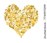 vector confetti background...   Shutterstock .eps vector #774997099