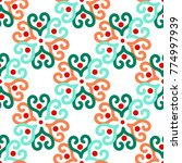 bright seamless pattern with...   Shutterstock .eps vector #774997939