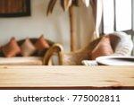 empty desk platform over...   Shutterstock . vector #775002811