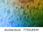 light blue  green vector... | Shutterstock .eps vector #775018549