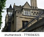 historic building in oxford | Shutterstock . vector #775036321