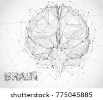 three dimensional vector cyber...   Shutterstock .eps vector #775045885