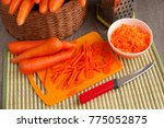 preparation of dishes from... | Shutterstock . vector #775052875