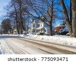 Older Traditional Homes In A...