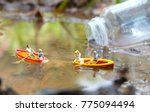 couples on boat | Shutterstock . vector #775094494