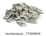 stack of  100. | Shutterstock . vector #77509849