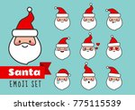 vector cartoon simple flat line ... | Shutterstock .eps vector #775115539