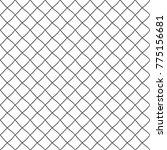 seamless pattern of rhombuses.... | Shutterstock .eps vector #775156681
