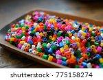 ironing beads for craft  hama... | Shutterstock . vector #775158274