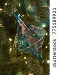 blue green bubbled glass... | Shutterstock . vector #775189921