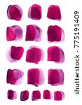 pink color. colorful abstract... | Shutterstock . vector #775191409