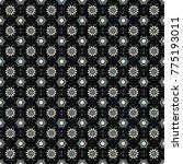oriental pattern  islam  arabic ... | Shutterstock .eps vector #775193011