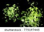 light green vertical abstract... | Shutterstock . vector #775197445