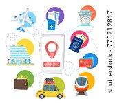 vector cartoon style... | Shutterstock .eps vector #775212817