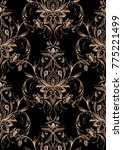 paisley  seamless pattern ...   Shutterstock . vector #775221499