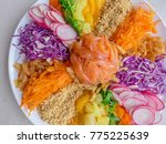 fresh ingredients consisting of ... | Shutterstock . vector #775225639